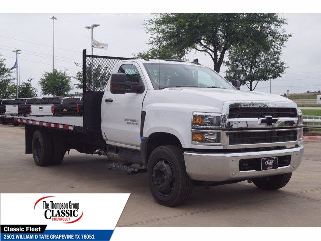 2020 Chevrolet Silverado 5500 Regular Cab DRW 4x2, Knapheide Platform Body #LH581539 - photo 1
