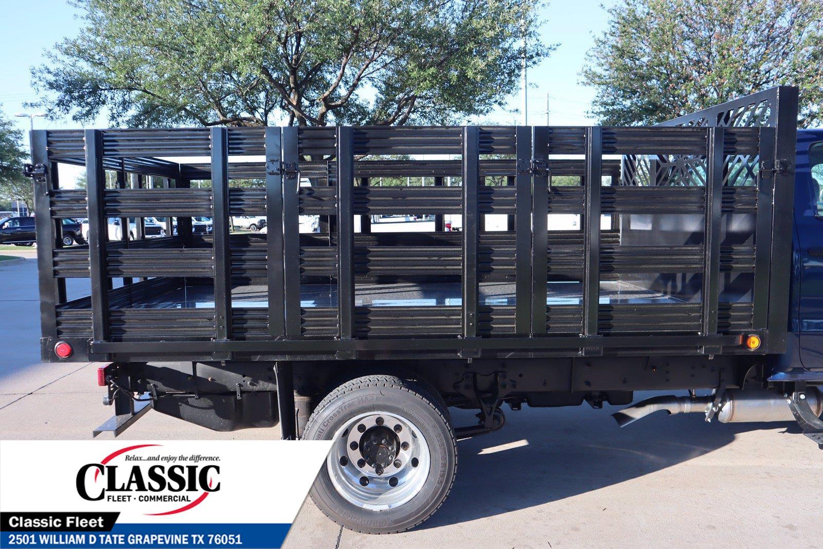 2020 Chevrolet Silverado 6500 Crew Cab DRW 4x2, Cadet Stake Bed #LH594732 - photo 9