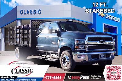 2020 Chevrolet Silverado 6500 Crew Cab DRW 4x2, Cadet Stake Bed #LH594732 - photo 1