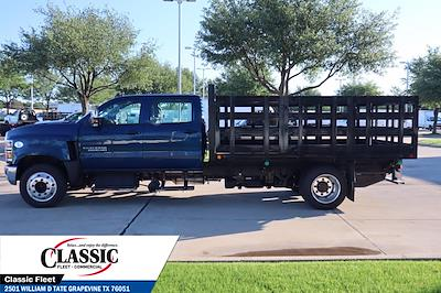 2020 Chevrolet Silverado 6500 Crew Cab DRW 4x2, Cadet Stake Bed #LH594732 - photo 6