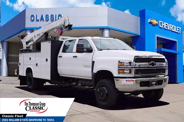 2020 Chevrolet Silverado 5500 Crew Cab DRW 4x4, Knapheide KMT Mechanics Body #LH856402 - photo 1
