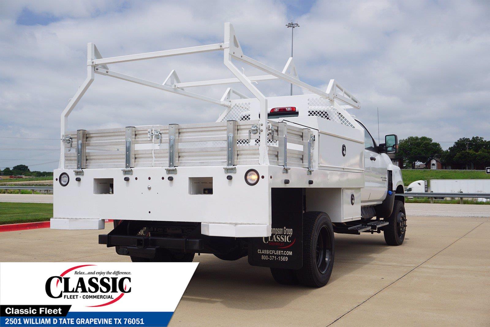 2020 Chevrolet Silverado 5500 Crew Cab DRW 4x4, RhinoPro Truck Outfitters Contractor Body #LH866279 - photo 1