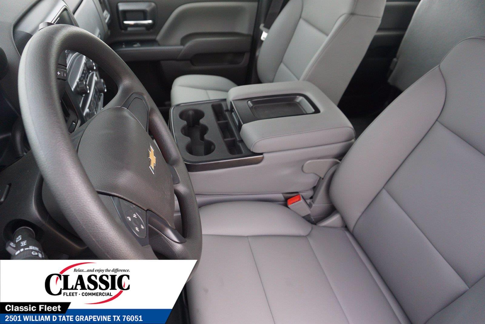 2020 Chevrolet Silverado 5500 Crew Cab DRW 4x4, RhinoPro Truck Outfitters Contractor Body #LH866279 - photo 12