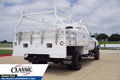 2020 Silverado 5500 Crew Cab DRW 4x4,  RhinoPro Truck Outfitters Contractor Body #LH866279 - photo 2