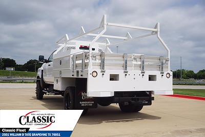 2020 Chevrolet Silverado 5500 Crew Cab DRW 4x4, RhinoPro Truck Outfitters Contractor Body #LH866279 - photo 8
