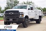 2020 Silverado 5500 Crew Cab DRW 4x4,  RhinoPro Truck Outfitters Contractor Body #LH866279 - photo 5