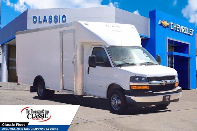 2020 Chevrolet Express 3500 DRW 4x2, Rockport Cutaway Van #LN011151 - photo 1
