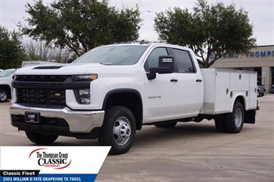 2021 Chevrolet Silverado 3500 Crew Cab AWD, Royal Utility Crane Body Mechanics Body #MF130575 - photo 5