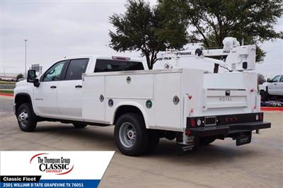 2021 Chevrolet Silverado 3500 Crew Cab AWD, Royal Utility Crane Body Mechanics Body #MF130575 - photo 7
