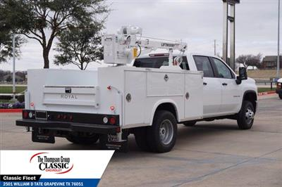 2021 Chevrolet Silverado 3500 Crew Cab AWD, Royal Utility Crane Body Mechanics Body #MF130575 - photo 2
