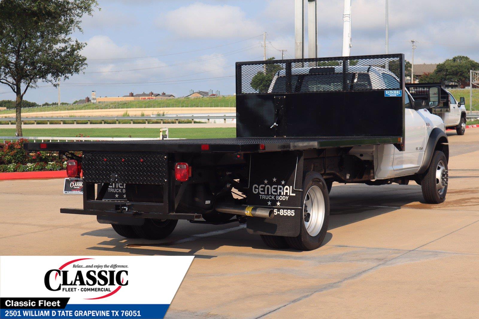 2021 Ram 4500 Regular Cab DRW 4x2, General Truck Body Platform Body #MG573742P - photo 1