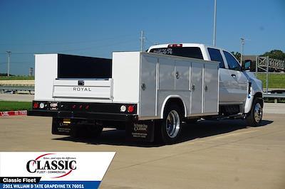 2021 Silverado 5500 Crew Cab DRW 4x2,  Royal Truck Body Service Body #MH626926 - photo 2