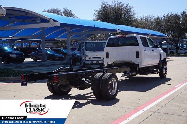 2021 Chevrolet Silverado 5500 Crew Cab DRW 4x4, Cab Chassis #MH671099 - photo 1