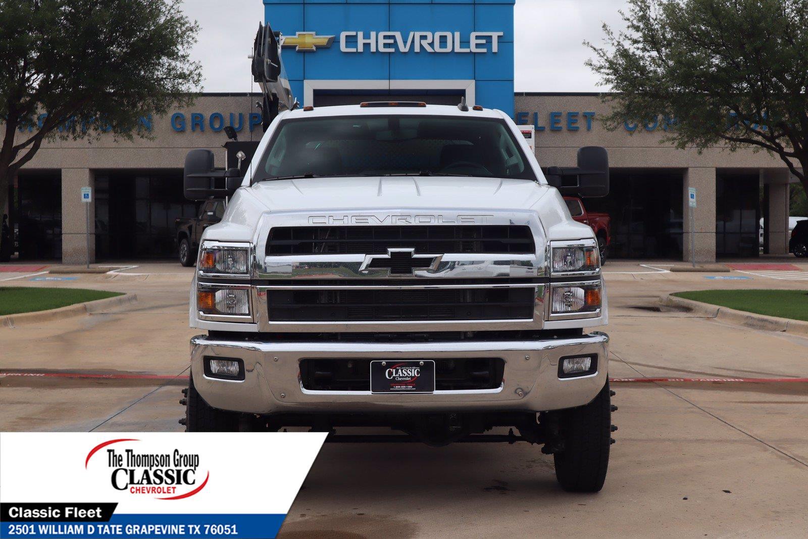 2021 Chevrolet Silverado 6500 Crew Cab DRW 4x4, Palfinger PAL Pro 43 Mechanics Body #MH843665 - photo 4