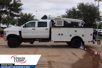2021 Chevrolet Silverado 6500 Crew Cab DRW 4x4, Palfinger PAL Pro 43 Mechanics Body #MH843665 - photo 6