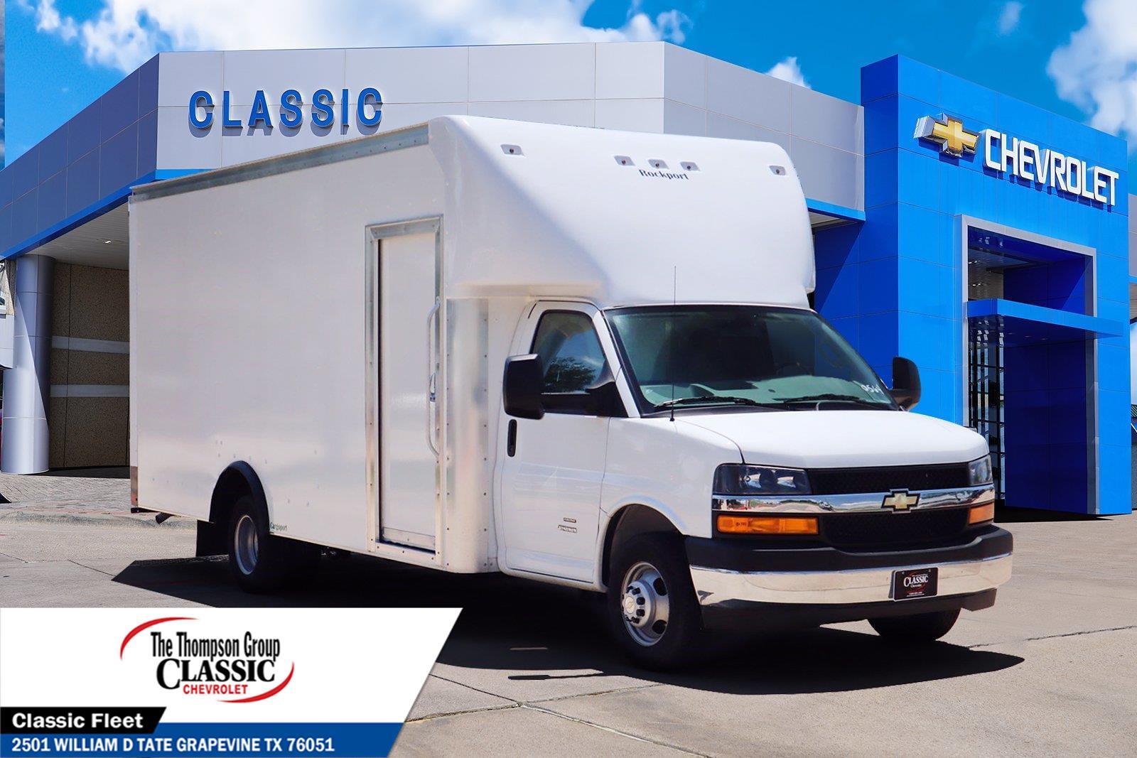 2021 Chevrolet Express 4500 DRW 4x2, Rockport Cutaway Van #MN000498 - photo 1