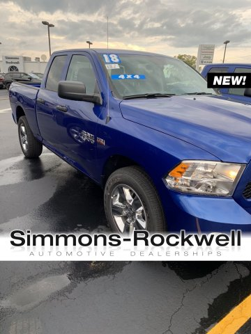 2018 Ram 1500 Quad Cab 4x4,  Pickup #D18-183 - photo 1