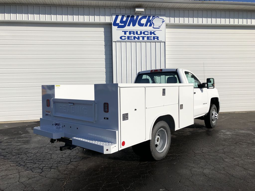 2019 Silverado 3500 Regular Cab DRW 4x4,  Reading SL Service Body #21877T - photo 12