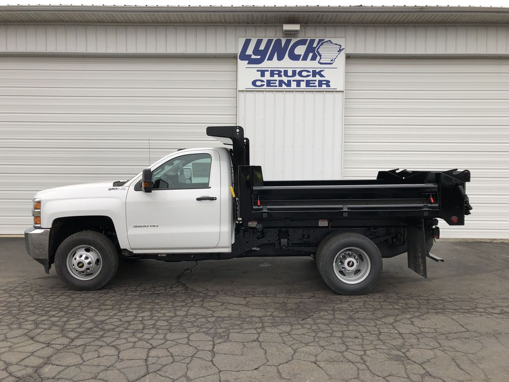 2019 Silverado 3500 Regular Cab DRW 4x4,  Dump Body #21901T - photo 10