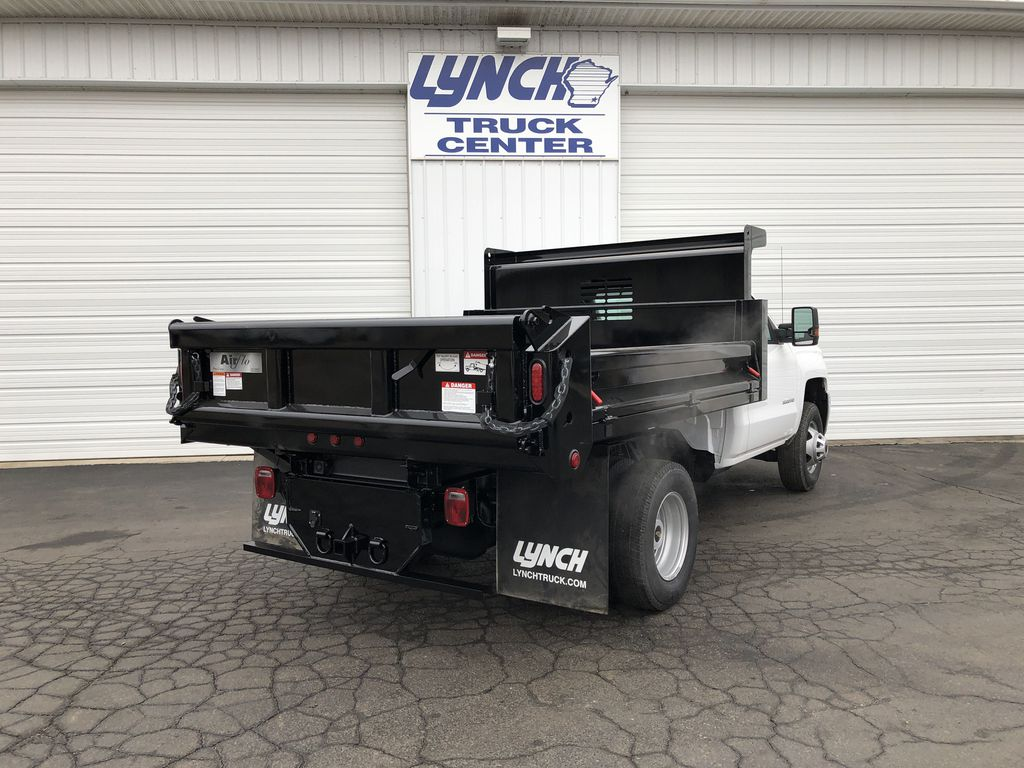 2019 Silverado 3500 Regular Cab DRW 4x4,  Dump Body #21901T - photo 12