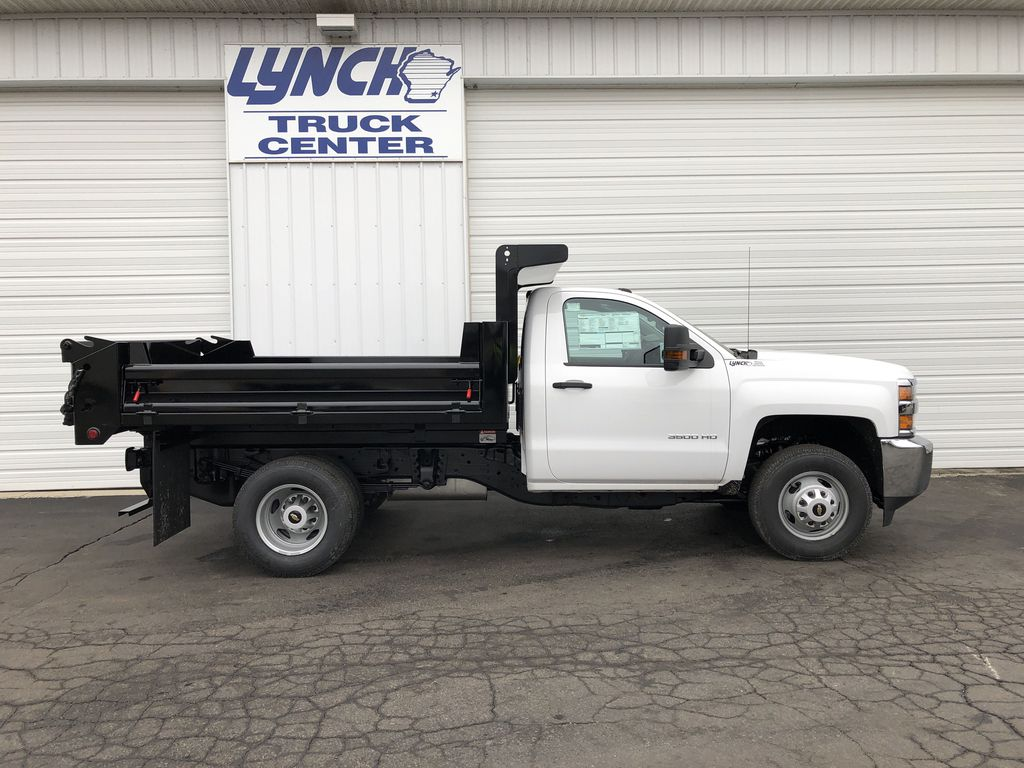 2019 Silverado 3500 Regular Cab DRW 4x4,  Dump Body #21901T - photo 13