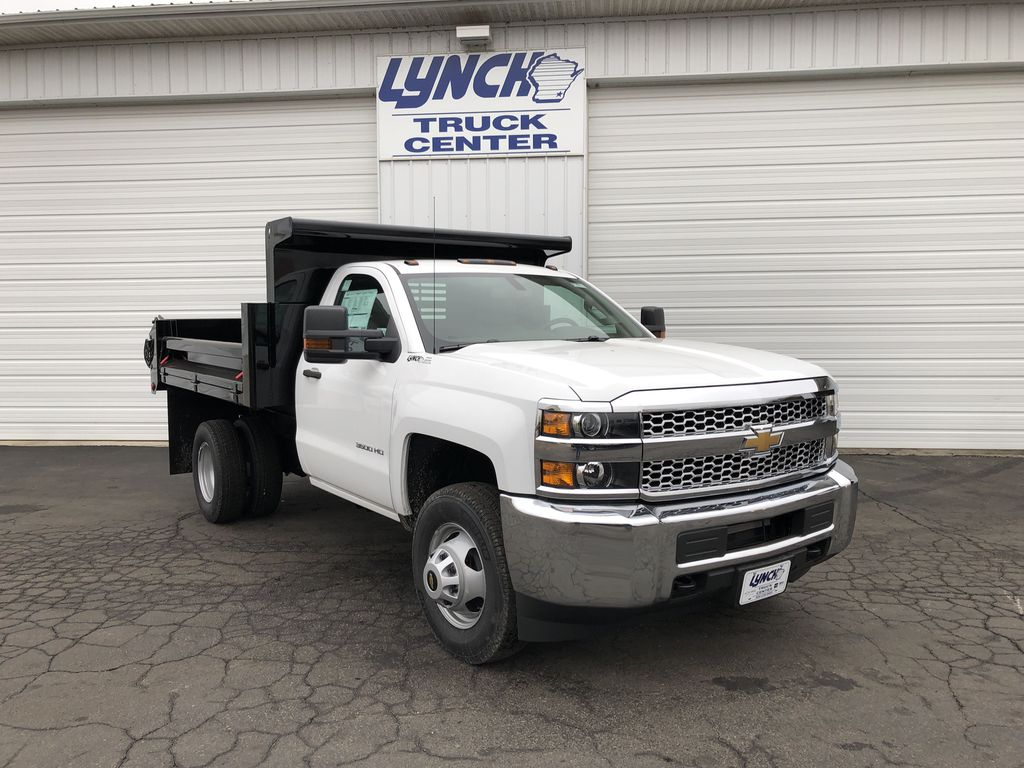 2019 Silverado 3500 Regular Cab DRW 4x4,  Dump Body #21901T - photo 14