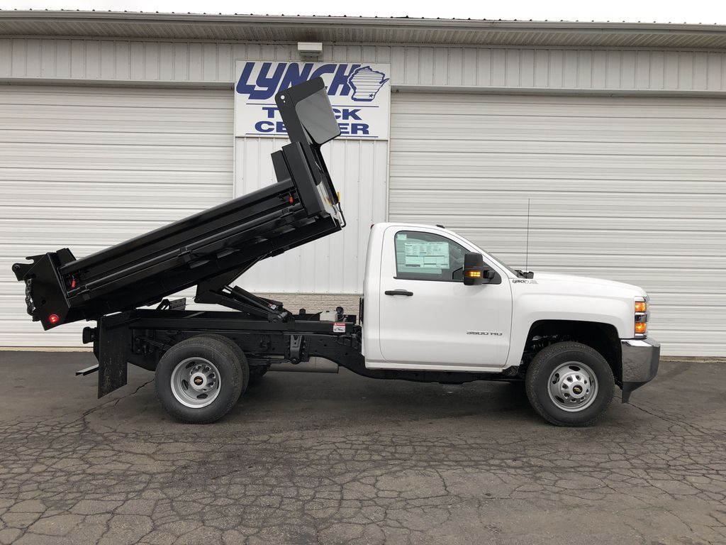 2019 Silverado 3500 Regular Cab DRW 4x4,  Dump Body #21901T - photo 16