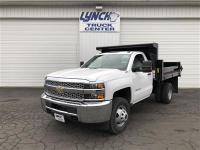 2019 Silverado 3500 Regular Cab DRW 4x4,  Dump Body #21901T - photo 1