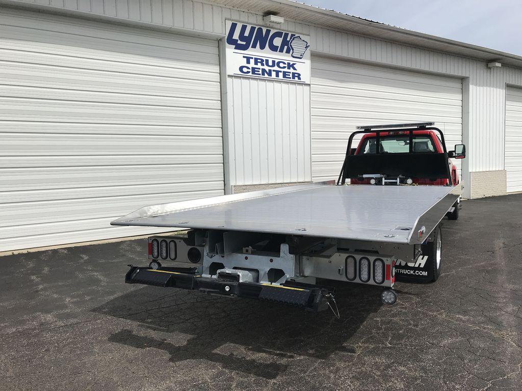 2019 Silverado Medium Duty Regular Cab DRW 4x2,  Miller Industries Rollback Body #22105W - photo 1