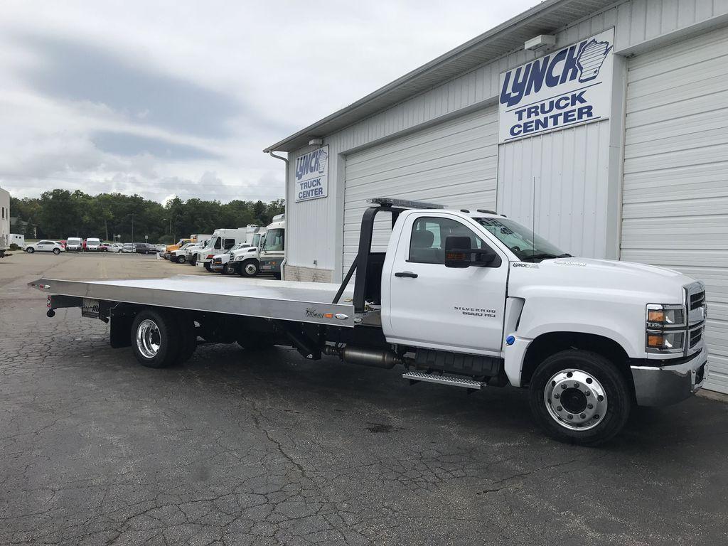 2019 Silverado Medium Duty DRW 4x2,  Miller Industries Rollback Body #22164W - photo 1