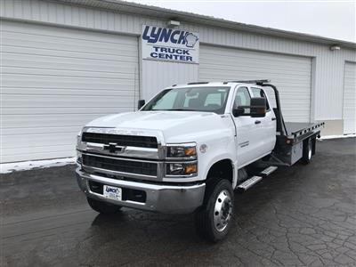 2019 Silverado Medium Duty Crew Cab DRW 4x4, Miller Industries Vulcan Rollback Body #22206W - photo 11
