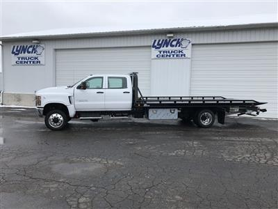 2019 Silverado Medium Duty Crew Cab DRW 4x4, Miller Industries Vulcan Rollback Body #22206W - photo 4