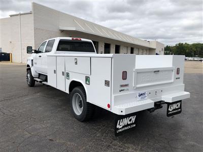 2019 Silverado Medium Duty Crew Cab DRW 4x4, Reading Classic II Steel Service Body #22239T - photo 2