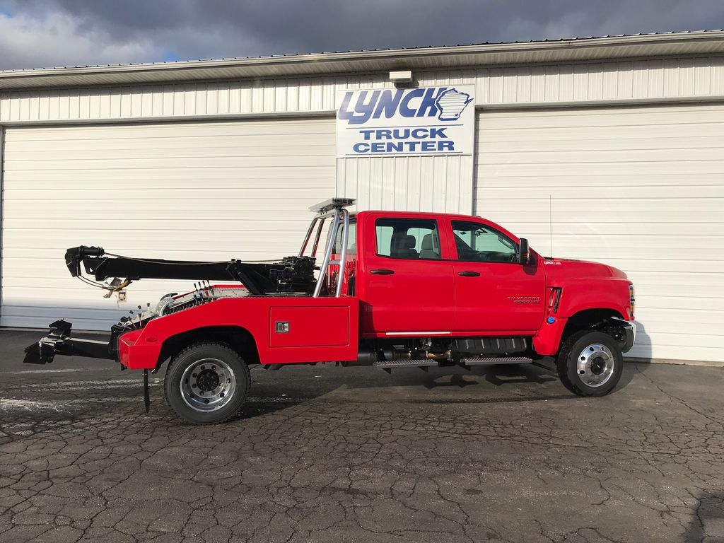 2019 Silverado Medium Duty Crew Cab DRW 4x4,  Wrecker Body #22322W - photo 12