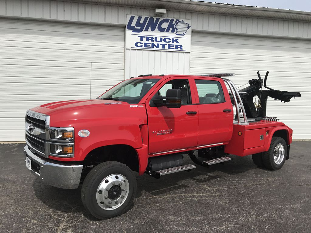 2019 Silverado Medium Duty Crew Cab DRW 4x4,  Wrecker Body #22350W - photo 3
