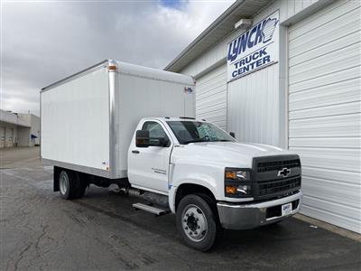 2019 Silverado Medium Duty Regular Cab DRW 4x2, U.S. Truck Body Dry Freight #22374T - photo 1