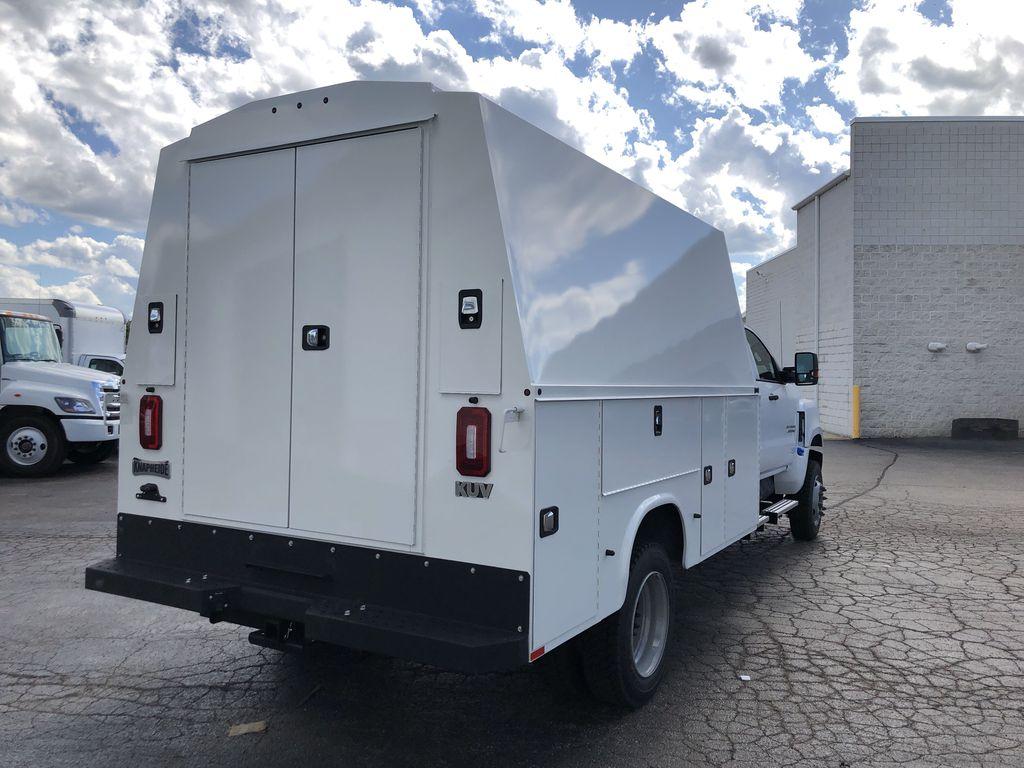 2019 Silverado Medium Duty Crew Cab DRW 4x4, Knapheide KUVcc Service Body #22407T - photo 2