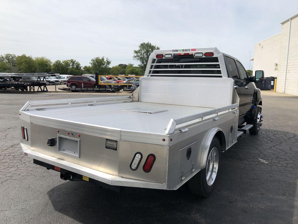 2019 Silverado Medium Duty Crew Cab DRW 4x2, Monroe Tow 'N Haul Gooseneck Platform Body #22412T - photo 10