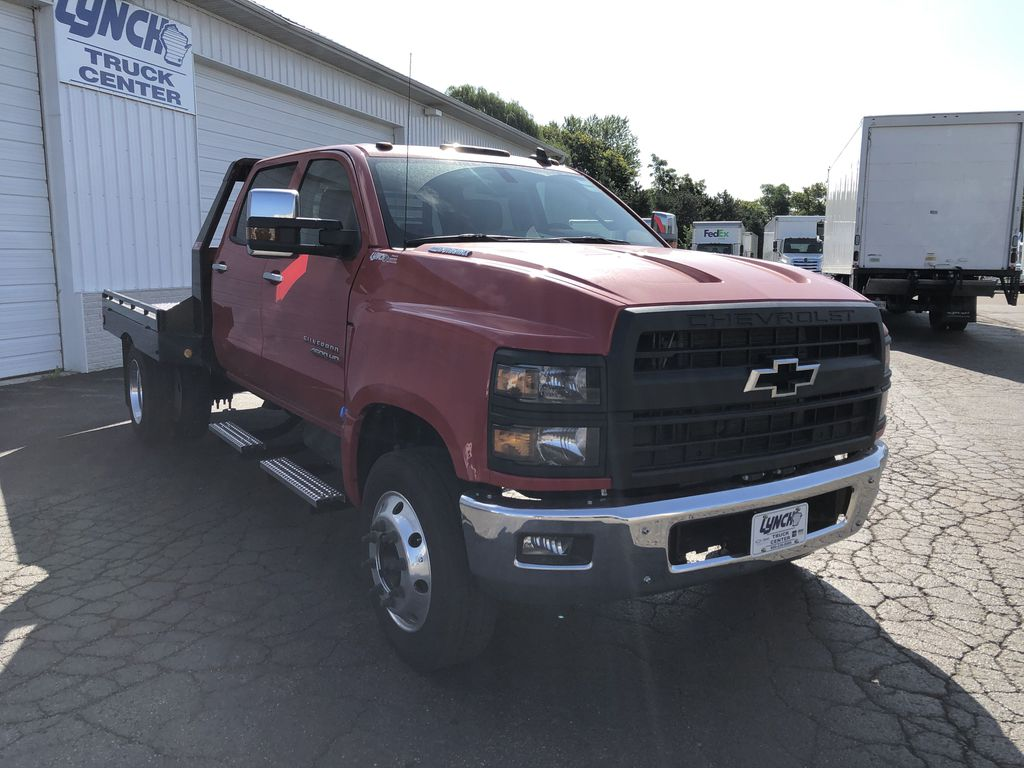 2019 Silverado Medium Duty Crew Cab DRW 4x2, Hillsboro GII Steel Platform Body #22415T - photo 12