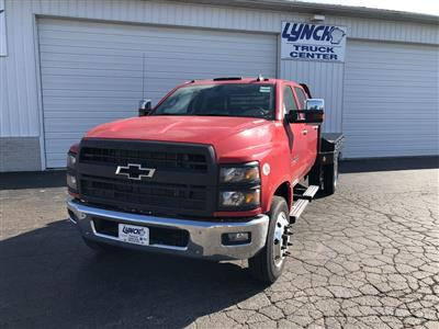 2019 Silverado Medium Duty Crew Cab DRW 4x2, Hillsboro GII Steel Platform Body #22415T - photo 1
