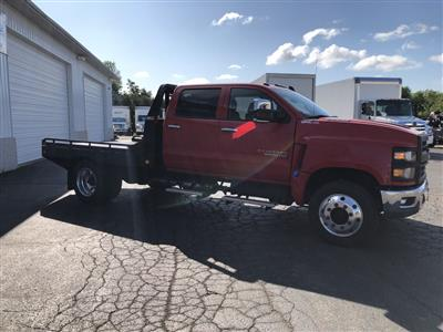 2019 Silverado Medium Duty Crew Cab DRW 4x2, Hillsboro GII Steel Platform Body #22415T - photo 11