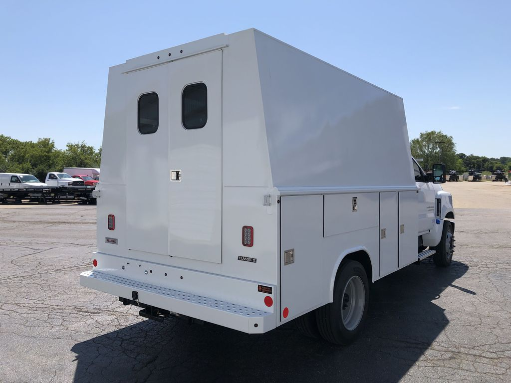 2019 Silverado Medium Duty Regular Cab DRW 4x2, Reading Panel Service Body #22432T - photo 12