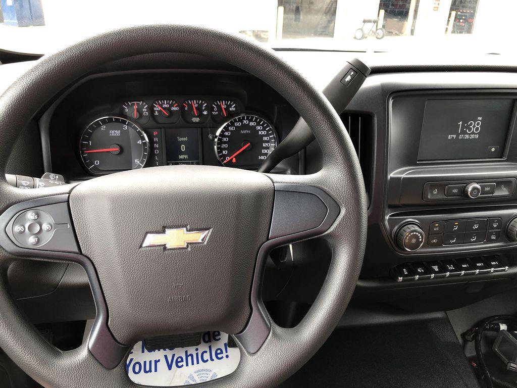 2019 Silverado Medium Duty Crew Cab DRW 4x4, Knapheide Drop Side Dump Body #22436T - photo 5