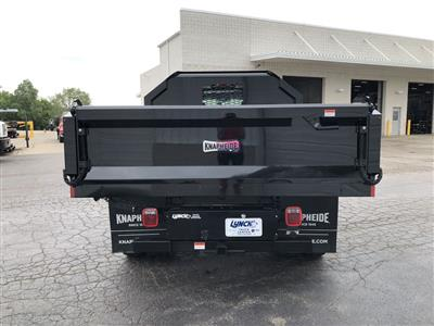 2019 Silverado Medium Duty Crew Cab DRW 4x4, Knapheide Drop Side Dump Body #22436T - photo 8