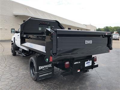 2019 Silverado Medium Duty Crew Cab DRW 4x4, Knapheide Drop Side Dump Body #22436T - photo 2