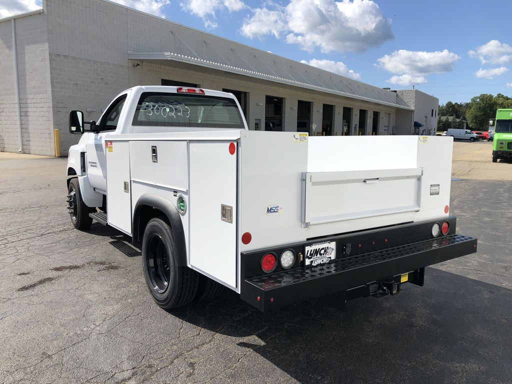 2019 Silverado Medium Duty Regular Cab DRW 4x2, Monroe Service Body #22455T - photo 1