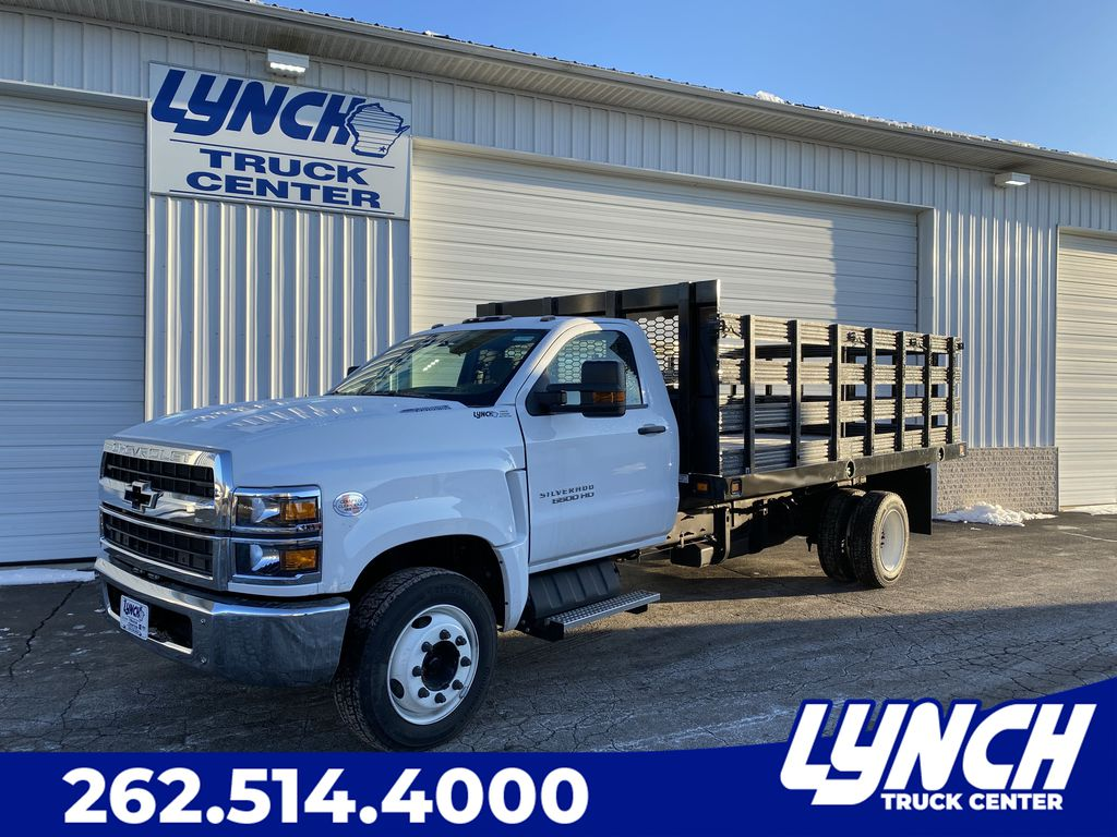 2019 Chevrolet Silverado Medium Duty Regular Cab DRW RWD, Knapheide Stake Bed #22658T - photo 1