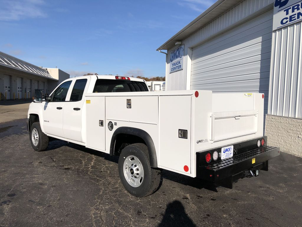 2019 Silverado 2500 Double Cab 4x2, Monroe Service Body #22694T - photo 1