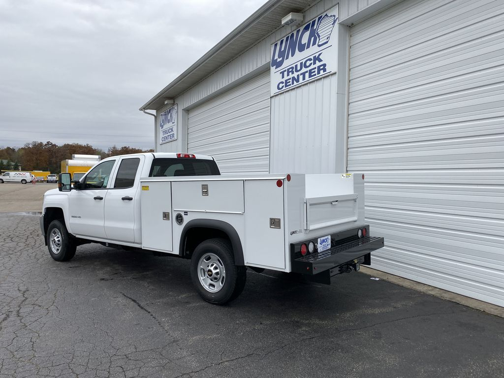 2019 Silverado 2500 Double Cab 4x2, Monroe Service Body #22696T - photo 1