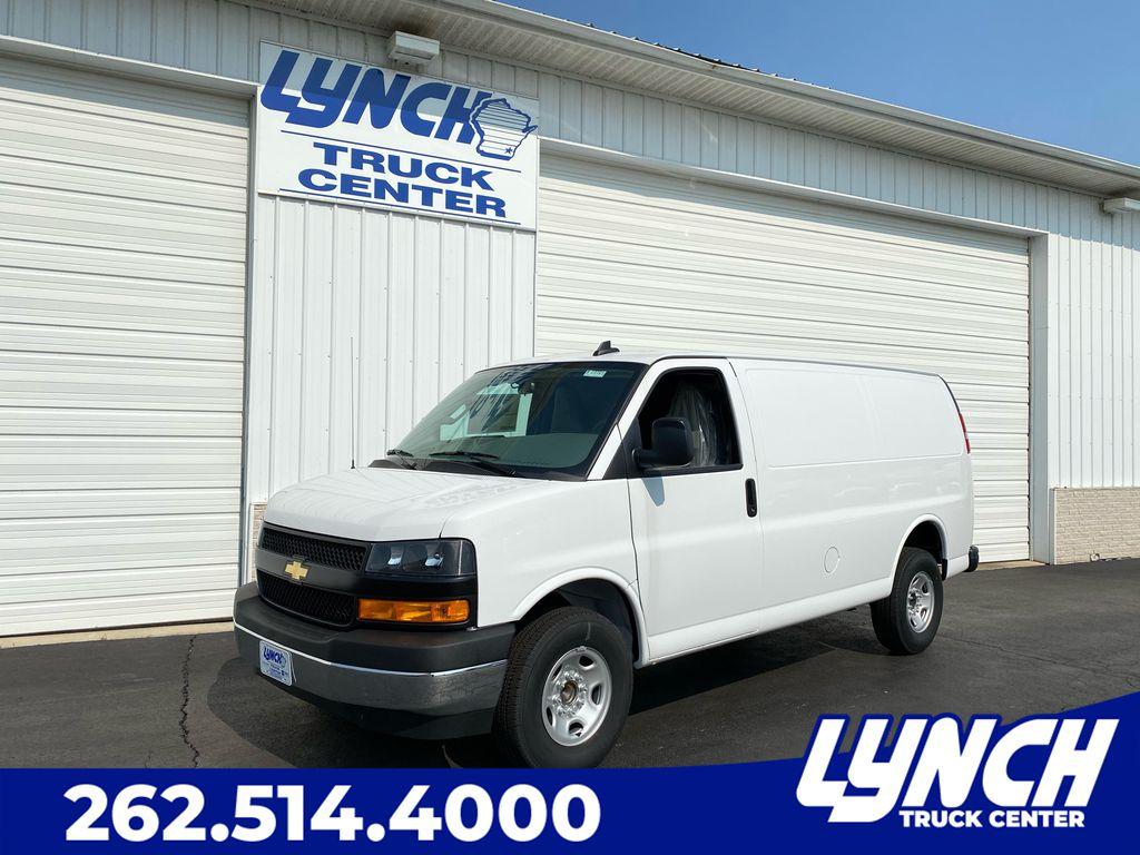2020 Chevrolet Express 3500 4x2, Empty Cargo Van #23164T - photo 1